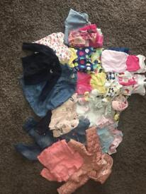 3-6 month girl clothes bundle