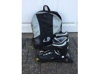 K2 Inline Skates and Backpack