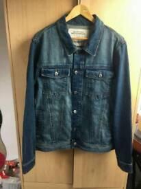Denim Jacket (Large) - Burton Mensware