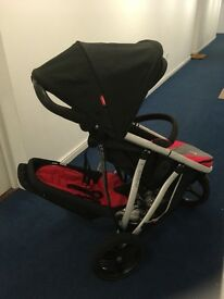 Phil and Teds Vibe twin buggy good condition