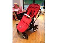 Bugaboo Donkey Twin Stroller (Red)