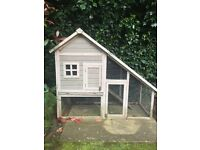 Double height Rabbit Hutch