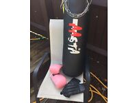 Training bag for boxing or martial arts