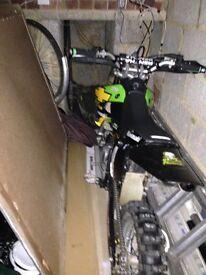 Pit bike kx 65 race tuned