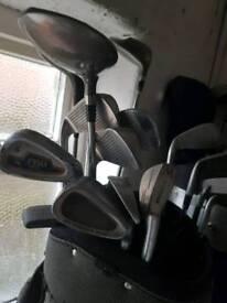 Golf clubs x14