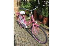 Ladies Pink Retro Bike Vintage Cruiser