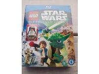 Lego Star Wars Padawan Menace Blu Ray with exclusive figure.