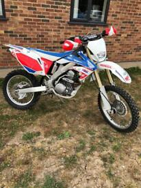 Honda CRF 250 X 2015 road legal