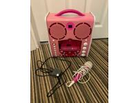 Singing Machine Classic portable karaoke machine