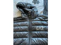 Men's medium EA7 feather and down jacket