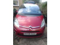 Citroen C4 picasso red 2.0 hdi semi auto exclusive breaking spare parts engine injector