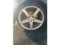 oems alloys rims low profile tyres 19 5x112