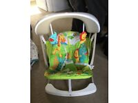 Fisher Price swing seat - Brand new, sat in only once!