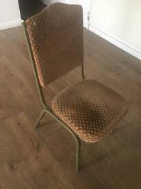 25 banqueting chairs