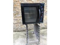 Blue seal E32 single phase electric commercial oven black