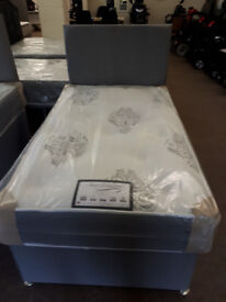 NEW 3'0 x 5'3 small divan bed set ideal for children or space saving