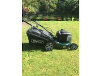 Webb WER16SP Lawnmower hardly used, 3 months old