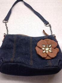 Denim small child's bag