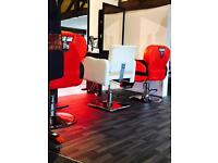 Barbers chair to rent Solihull