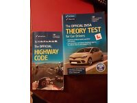 DVSA Driving Theory Test Book 2016 + Highway Code Book
