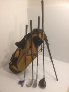 GX Golf junior golf set, 4 piece