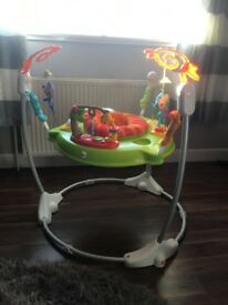 Fisher price Jumparoo, v good condition apart from butterfly removed