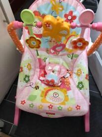 Fisherprice vibrating bouncy chair