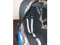 Maxi cosi car seat for new born