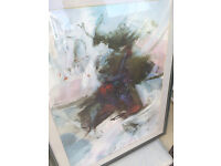 Two Really Nice Large Framed Modern Samurai Prints Signed, Acid Free Mounted Professionially Framed