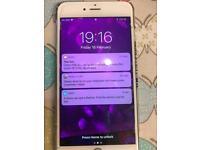 iPhone 6plus silver 64gb o2