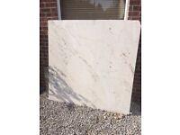 Marble slab 158cm - 153cm