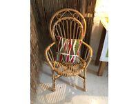 Gorgeous Vintage Franco Albini Style Bamboo Chair, Mid Century Modern, 50s/ 60s, Retro