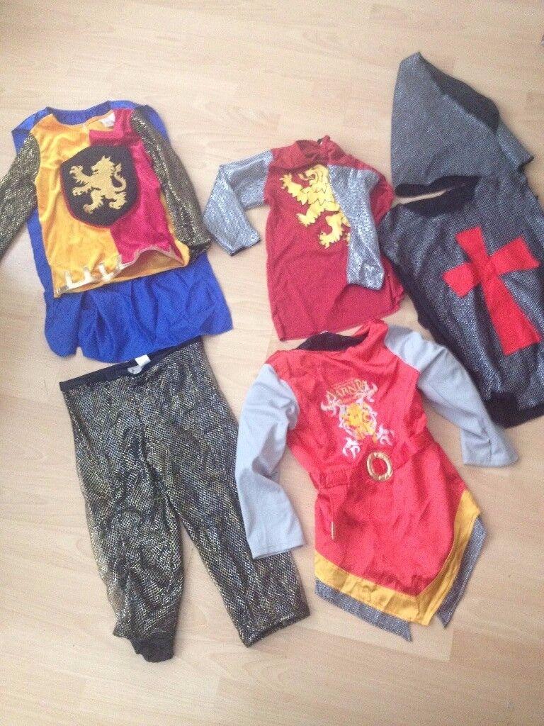 BOYS ROMAN SOLDIER KIDS FANCY DRESS CUSTOM 5-8 Yr