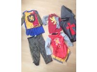 BOYS ROMAN SOLDIER KIDS FANCY DRESS CUSTOM 5-8 Yr