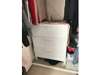 Ikea Brimnes White chest of drawers