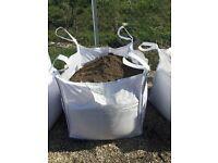 Top soil in bulk/jumbo bags