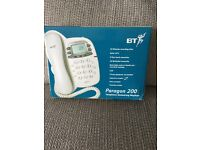 BT digital telephone answering machine.
