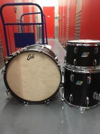 Vintage Ludwig Drum Kit in Down Beat Sizes 20 12 14