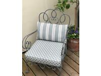 Iron chairs for outdoor /indoor glamour