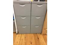 IKEA grey ERIK filing cabinet - Brand New in Box x 1
