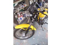1975 rd 350 b unfinished project