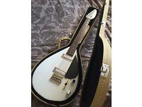 Hutchins 'Brian Jones' Vox Signature teardrop electric guitar with case