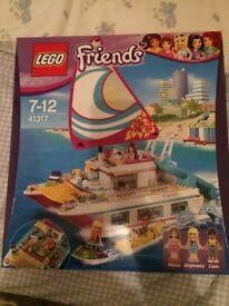 Lego Friends Sunshine Catamaran Brand New