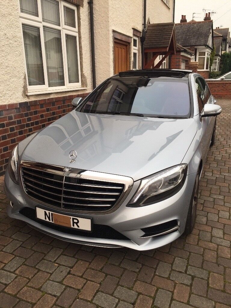 mercedes benz s350d l amg line 2014 in leicester. Black Bedroom Furniture Sets. Home Design Ideas
