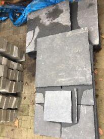 Lime stone slabs