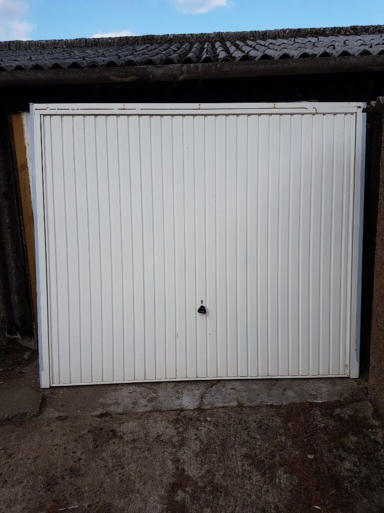 Garador Garage Door White Up And Over In Peterhead