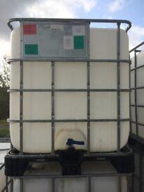 IBC Storage Tanks.