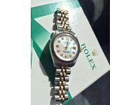Ladies Rolex Datejust 69173 Diamond Dial