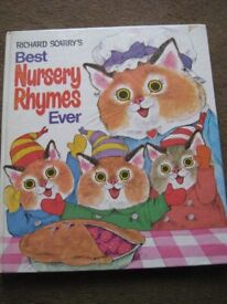 Richard Scarry's Best Nursery Rhymes Ever Large Hardback Book for ONLY £3.00