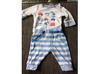 Newborn boys mini club outfit